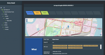 Geo-Mapping Interface from Quartet