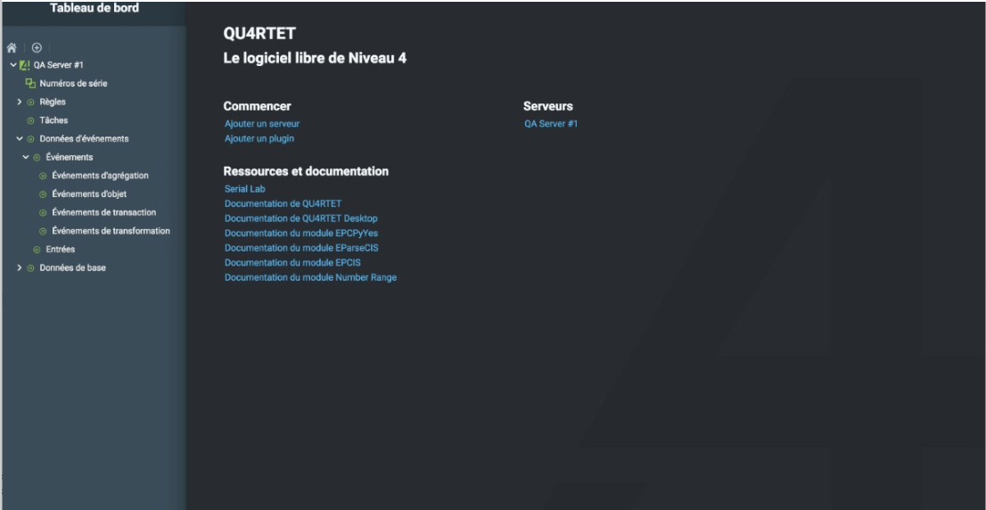 Quartet's Tableau Interface